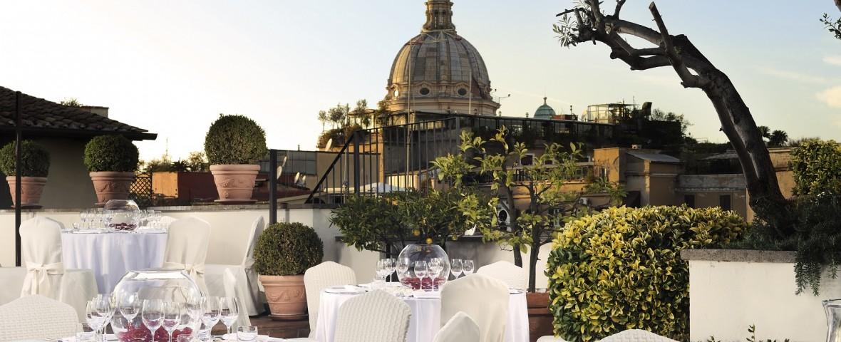 Hotel d'Inghilterra Terrace